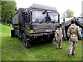 H3682 : Army truck, Baronscourt by Kenneth  Allen