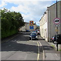 ST7364 : Two similar traffic signs 10 yards apart in Brook Road, Twerton, Bath by Jaggery
