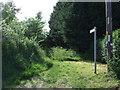 TL1868 : Footpath off Hardwick Lane by JThomas