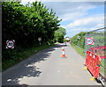 ST6010 : Four 30mph speed limit signs, Brister End, Yetminster by Jaggery