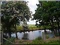 TL0466 : Pond near to Eastfields Farm by Bikeboy