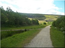 SK0698 : The Longdendale Trail near Torside Reservoir by Jonathan Clitheroe