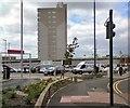 SJ9594 : Car parks off Clarendon Place by Gerald England