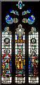 TF1340 : West window, St Andrews church, Helpringham by J.Hannan-Briggs
