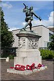 TL4557 : War Memorial in Cambridge by Martin Addison