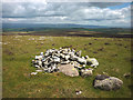 NY5911 : Prehistoric cairn north of Long Scar Pike by Karl and Ali