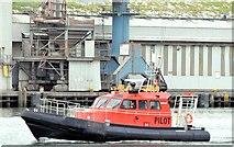 "J3576 : The ""Captain Michael Evans"", Victoria Channel, Belfast harbour (June 2015) by Albert Bridge"