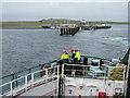 NM0445 : MV Clansman leaving Tiree by M J Richardson