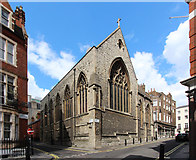 TQ2880 : Christ Church, Down Street, Mayfair by John Salmon