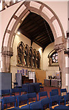 TQ2880 : Christ Church, Down Street, Mayfair - Interior by John Salmon