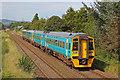 SJ3033 : Train approaching Gobowen by Wayland Smith