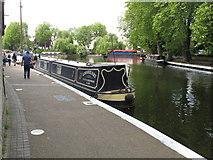 TQ2681 : Lionheart - narrowboat in Little Venice by David Hawgood