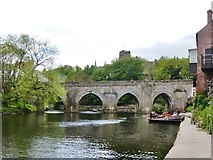 NZ2742 : Boat hire on the River Wear at Durham by Derek Voller