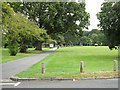 SP1582 : Southwest end of Elmdon Park on a damp August afternoon, Olton by Robin Stott