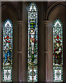 TF1135 : East window, St Andrew's church, Horbling by J.Hannan-Briggs