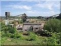 SK4231 : Quarry plant by Bellington Hill by Ian Calderwood