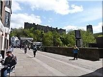 NZ2742 : Framwellgate Bridge  over the river Wear, Durham by Derek Voller