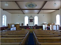 SH7572 : Inside Zion Chapel by Gerald England