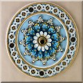 SH7572 : Zion chapel ceiling rose by Gerald England
