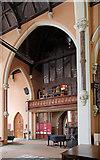 TQ2878 : St Michael, Chester Square - Organ loft by John Salmon