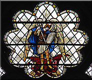 TQ2878 : St Michael, Chester Square - Stained glass window by John Salmon