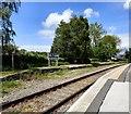 SH7871 : Tal-y-Cafn & Eglwysbach Station by Gerald England