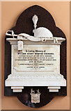 TQ2878 : St Michael, Chester Square - Wall monument by John Salmon