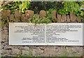 SH7871 : Plaque at Tal-y-Cafn & Eglwysbach Station by Gerald England