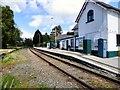 SH7871 : Tal-y-Cafn station by Gerald England