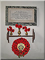 TG1702 : The War Memorial in East Carleton church by Adrian S Pye