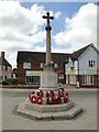 TM0495 : Attleborough War Memorial by Adrian S Pye