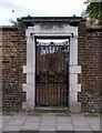 TQ3182 : Entrance, former Hugh Former Hugh Myddelton School, Clerkenwell, EC1 by Julian Osley