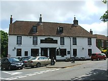 TR3054 : The Five Bells, Eastry by Chris Whippet