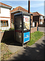TG2008 : Telephone Box on Bowthorpe Road by Adrian Cable