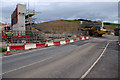 SD4764 : Lancaster Road Bridge construction (A6) by Ian Taylor