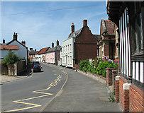 TM1473 : Church Street, Eye by Evelyn Simak