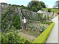 SH5573 : Kitchen garden, Plas Cadnant by Richard Hoare
