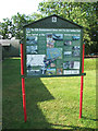 TM1972 : 95th Bombardment Group Museum - information board by Evelyn Simak