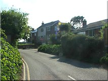 TR3451 : Willow Road, Great Mongeham by Chris Whippet