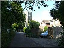 TR3451 : Mongeham Church Close, Great Mongeham by Chris Whippet