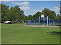TL3845 : Play area, Melbourn by Hugh Venables