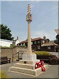 TF6103 : Downham Market War Memorial by Adrian S Pye