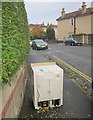 ST5874 : White goods on the pavement, Redland by Derek Harper
