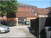 SU6351 : Old building off Sarum Hill by Sandy B