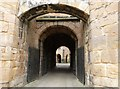 NU1813 : Through the gatehouse to the courtyard beyond, Alnwick castle by Derek Voller