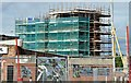 J3674 : The Connswater Visitor Centre, Belfast - June 2015(2) by Albert Bridge