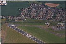 "TQ8789 : Southend Airport traffic advisory: ""Easy 1,000 feet below"" (aerial 2015) by Chris"