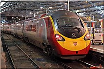 "SJ3590 : Virgin Class 390, 390154 ""Matthew Flinders"", platform 7, Liverpool Lime Street railway station by El Pollock"
