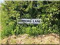 SJ5474 : Depmore Lane street sign by Jeff Buck