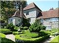 SU8403 : Rymans - Across the box hedge formal garden by Rob Farrow